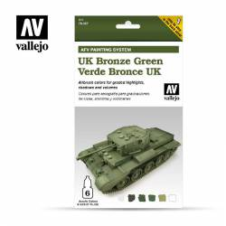 UK Bronze Green. VALLEJO 78407