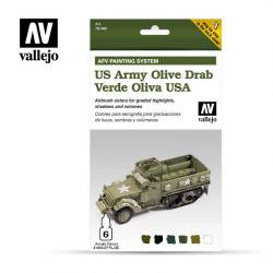US Army Olive Drab Set. VALLEJO 78402