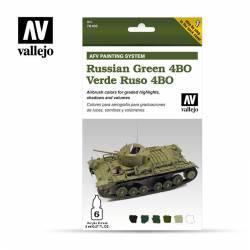 Set Verde Ruso 4BO. VALLEJO 78403