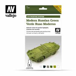 Set Verde Ruso Moderno. VALLEJO 78408