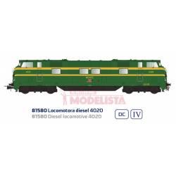 Diesel locomotive 4020, RENFE.
