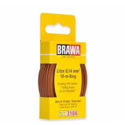 Wire 0,14 mm², brown.