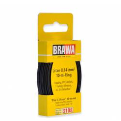 Wire 0,14 mm², black.
