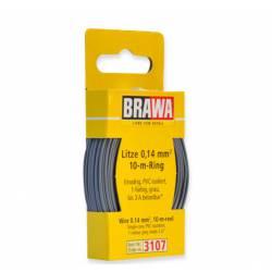 Cable de 1 mm (0,14mm²) . Negro.