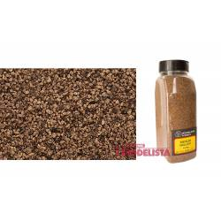 Balasto o grava color marrón, fino. WOODLAND SCENICS B1372