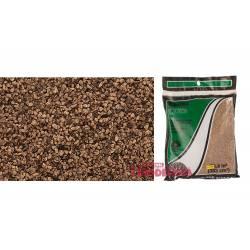 Balasto o grava color marrón, fino. WOODLAND SCENICS B72