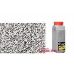 Balasto o grava color gris, fino. WOODLAND SCENICS B1393