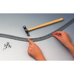 Flexible track, 970 mm.
