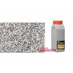 Balasto o grava color gris, grueso. WOODLAND SCENICS B1395