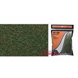 Fine turf green grass bag.