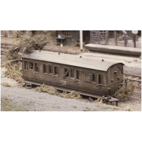 Vagón abandonado. RATIO 501