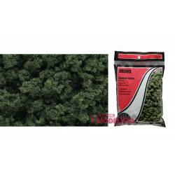 Bolsa de matorral verde medio.