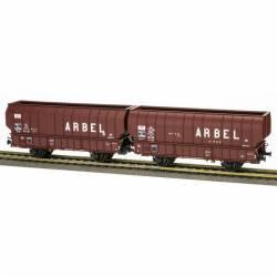 "Set of coal hopper wagons ""Arbel"", SNCF."