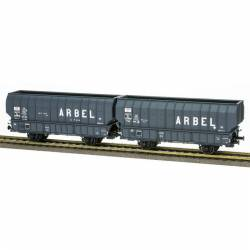 "Set of coal hopper wagons ""Arbel"", SNCF."