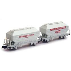 Set de dos tolvas de cereales SNCF. Transcereales. N160 24003