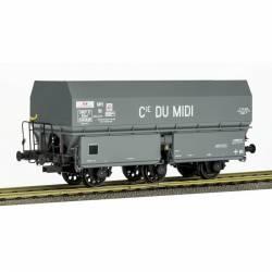 """Tolva de carbón """"Cie. du MIDI"""", SNCF."""