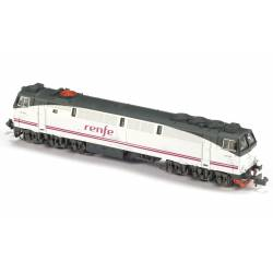 Diesel locomotive 333-107, RENFE.