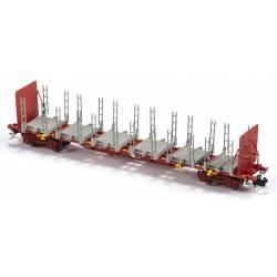 Log carrier wagon, Takargo.