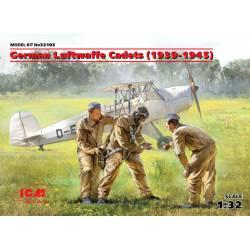 Cadetes alemanes de la Luftwaffe.