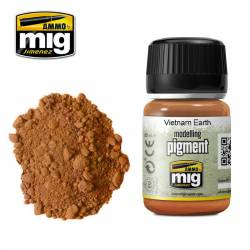 Pigment - Vietnam earth. 35 ml.
