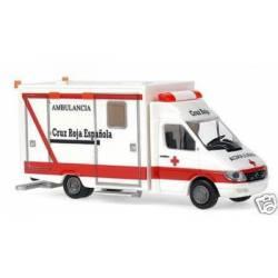 Ambulancia MB Sprinter de Cruz Roja.