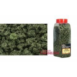 Bote de flocado, verde oliva.