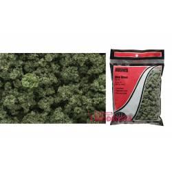 Bolsa de matorral verde oliva.