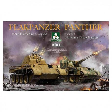 "Flakpanzer Panther ""Coelian""."