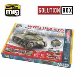 Solution box WWII USA ETO.