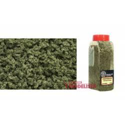 Bote con dosificador de flocado verde oliva.