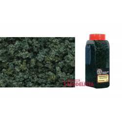 Bote con dosificador de flocado verde medio. WOODLAND FC1636