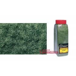 "Static grass flock ""Dark Green""."