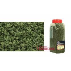 Bote con dosificador de flocado verde claro.