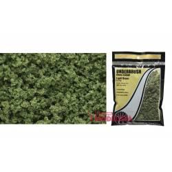 Underbrush light green bag.