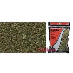 Bolsa de césped grueso (hierba seca).