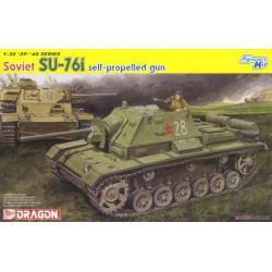 Autopropulsado ruso SU-76i.