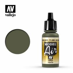 US verde oscuro 17 ml.
