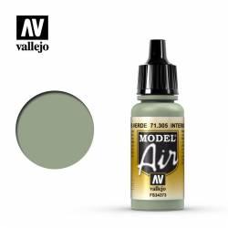 Interior gris verde 17 ml.