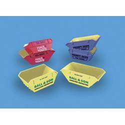 Contenedores de obra amarillos. MODEL SCENE 5088B