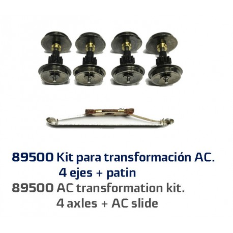 AC transformation kit for RENFE 340.