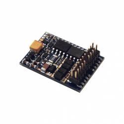 LokPilot V4.0 DCC decoder, 22-pin plug.