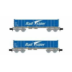 Set de vagones Ealos, RailSider.