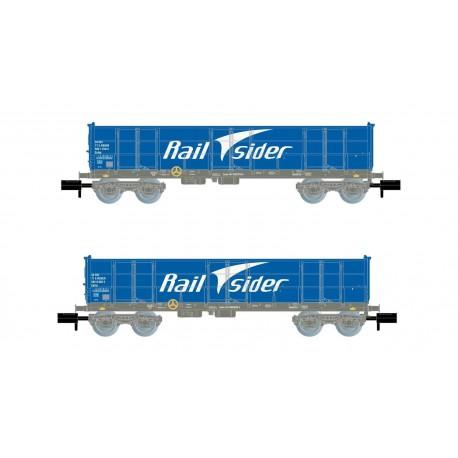 Ealos wagons, RailSider.