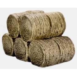 Stack of ten round haybales. HARBURN HAMLET CG213