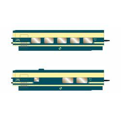 RENFE Trenhotel Talgo, 2-unit set.