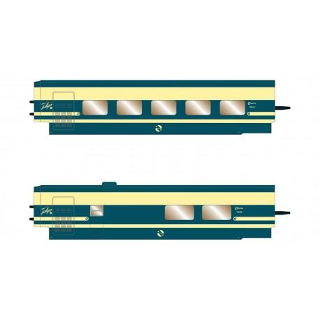 RENFE Trenhotel Talgo, 2-unit set.