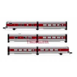 Talgo III, composición de seis coches. RENFE.