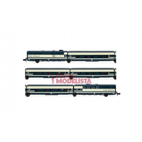 RENFE Trenhotel Talgo, 6-unit set.