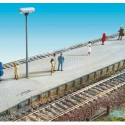 Platform edge.