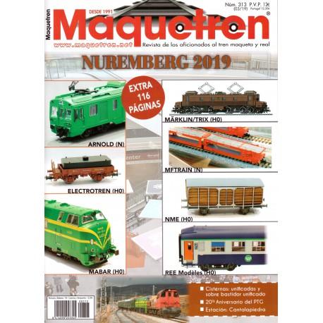 Revista Maquetren, nº 313.